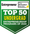 Princeton Review Top 50 Undergrad Entrepreneurship Programs