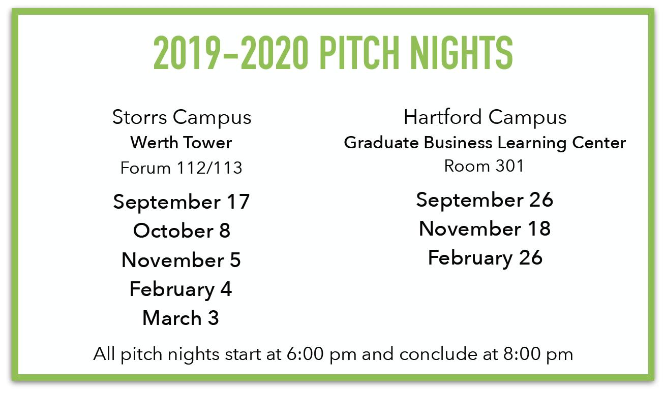 Get Seeded Pitch Night Schedule
